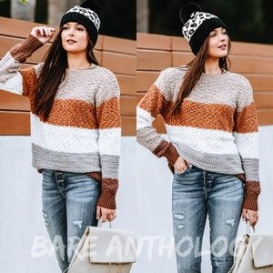 Textured Popcorn Sweater
